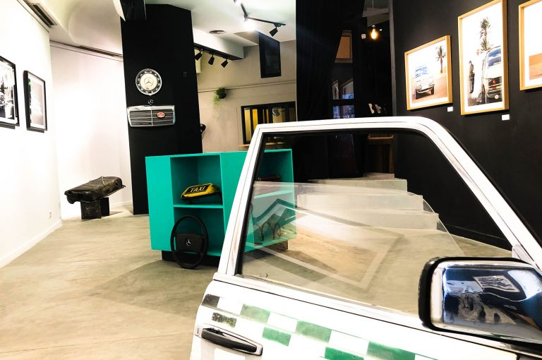 "Exhibition view of ""Benz Benz"", 2020"